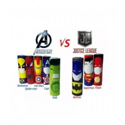 Wrapper 18650 Super Hero (Pack de 100)