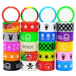 Vape Band Color mix ( pack de 20 ) 22 MM