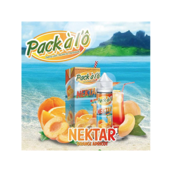 Eliquid Nektar - 50 ml - Pack à l'Ô