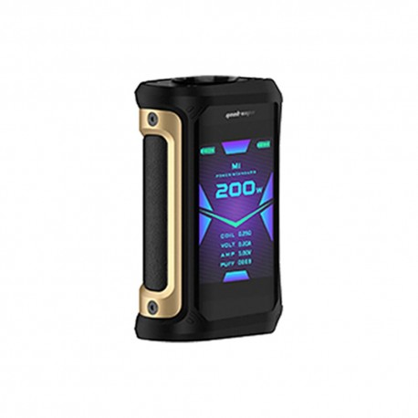 Box Mod Aegis X Geekvape Gold Black