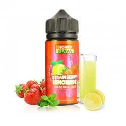 E Liquide Hello Summer Strawberry Lemonade 100 ml Horny Flava