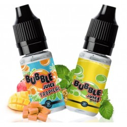 Echantillon - Sample pack 10ml Aromazon Bubble 1 Mint + 1 Tropical